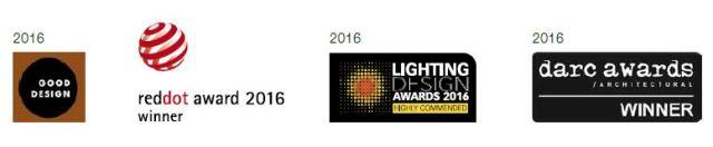 Reddot awards ,Lighting design awards, darc awards,good design
