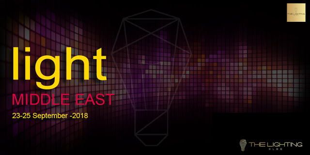 The 13th edition of Light Middle East will take place on the 23 – 25 September, 2018 at the Dubai International Convention and Exhibition Centre with an expected 300+ exhibitors planning to showcase their latest products and solutions.
