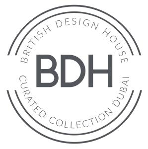 BDH, British Design House - John Cullen Lighting Launch in Dubai, LOGO,